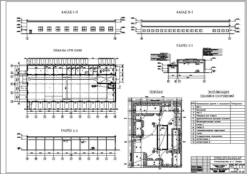 Дипломный Проект Архитектуре